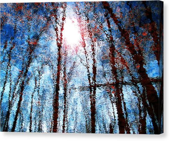 Jumbled Waters Canvas Print