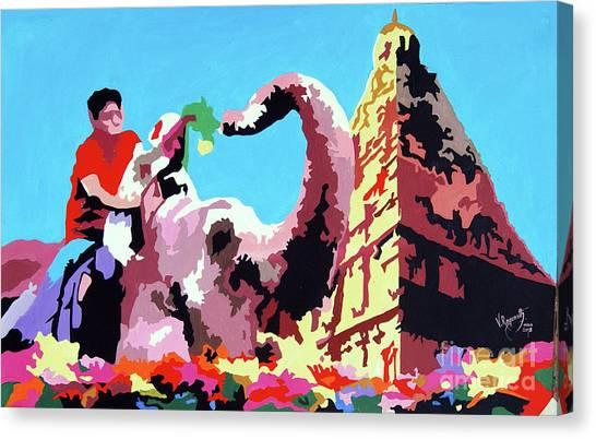Jumbo Jurney Canvas Print
