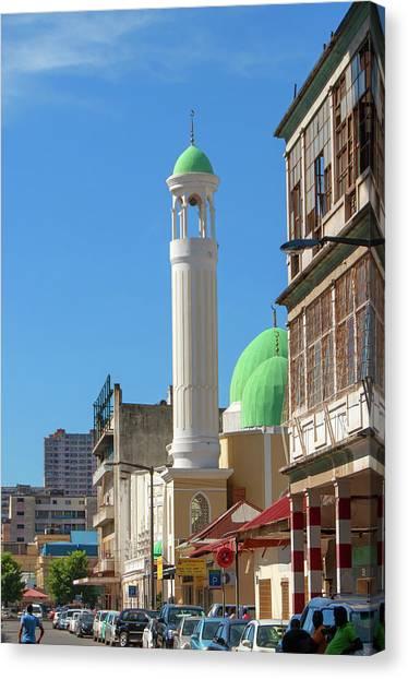Jumma Mosque Long Canvas Print