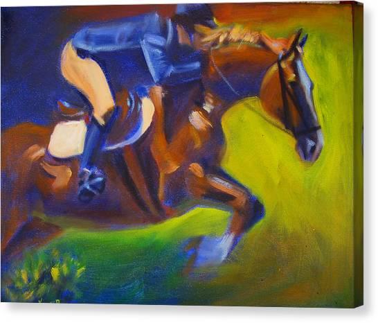 Jumper 2 Canvas Print by Kaytee Esser
