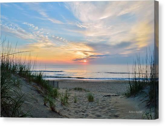 June 2, 2017 Sunrise Canvas Print