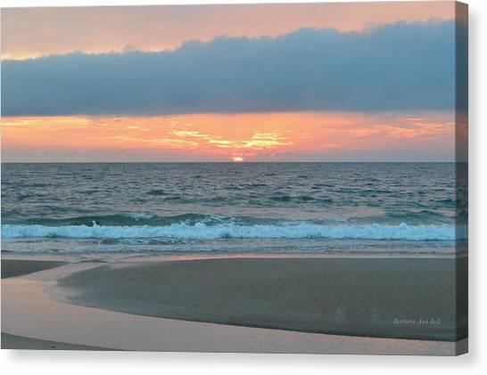 June 20 Nags Head Sunrise Canvas Print