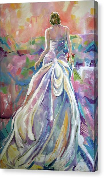 Canvas Print - June Bride by Laurie Pace