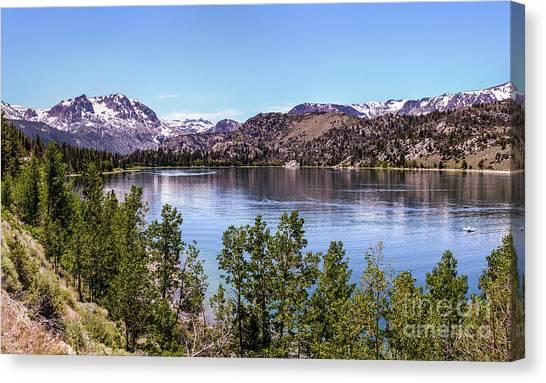 June Lake Canvas Print