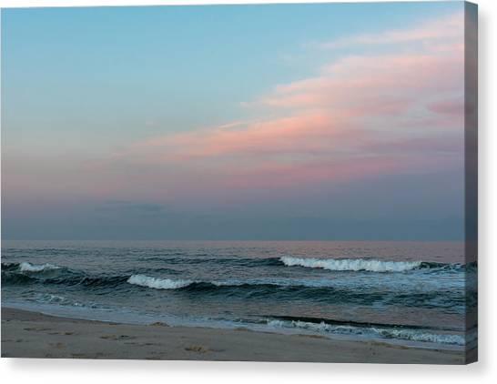June Sky Seaside New Jersey Canvas Print
