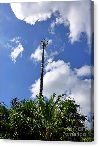 Canvas Print - Jungle Bungee Tower by Francesca Mackenney