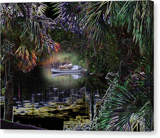 Jungle Glow Canvas Print by Rick McKinney