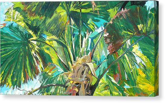 Jungle Canvas Print by Jan Farara