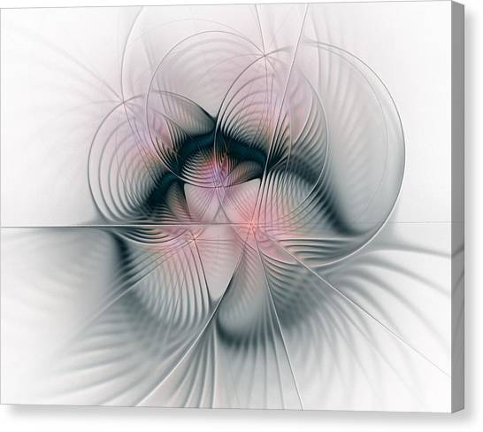 Junos Mercy - Fractal Art Canvas Print