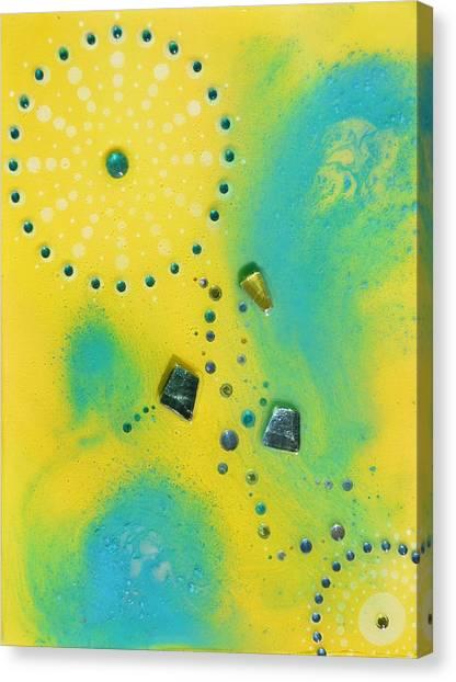 Jupiter Blue Canvas Print