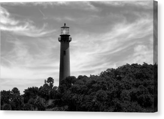 Jupiter Inlet Lighthouse - 8 Canvas Print
