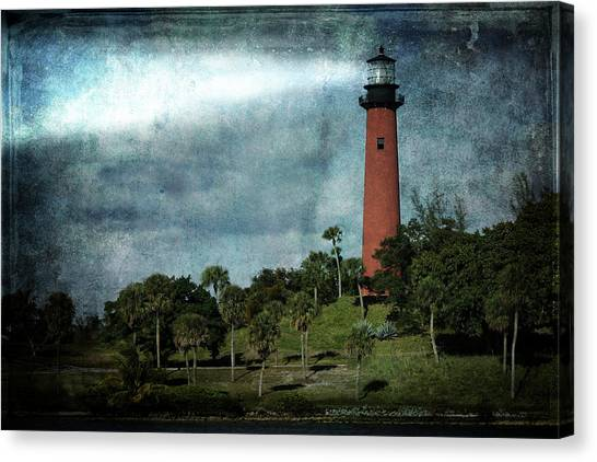 Jupiter Lighthouse-2a Canvas Print
