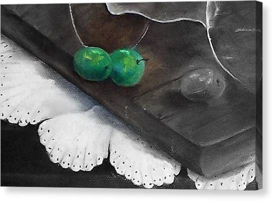 Just A Hint Of Color Canvas Print by Penny Everhart