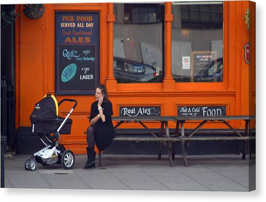 Just An Orange Will Be Fine Canvas Print by Jez C Self