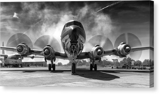 Just Getting Warmed Up Canvas Print