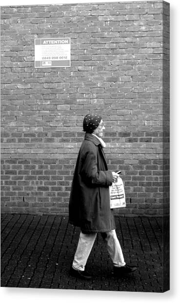 Just Going Nowhere Canvas Print by Jez C Self