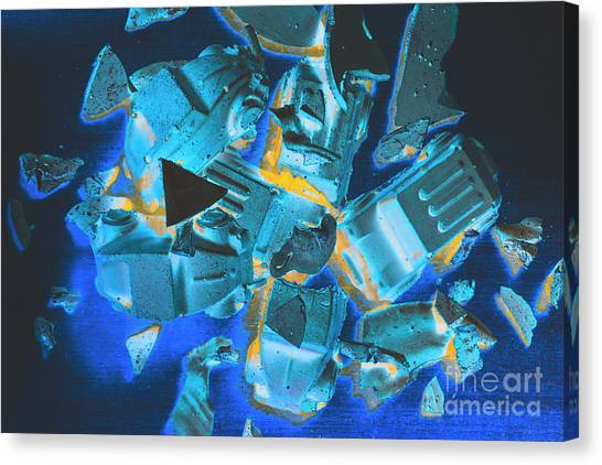 Fractal Canvas Print - Just Like A Slow Motion Car Crash by Jorgo Photography - Wall Art Gallery