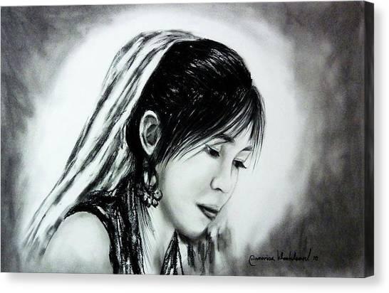Just Me Wanvisa Canvas Print