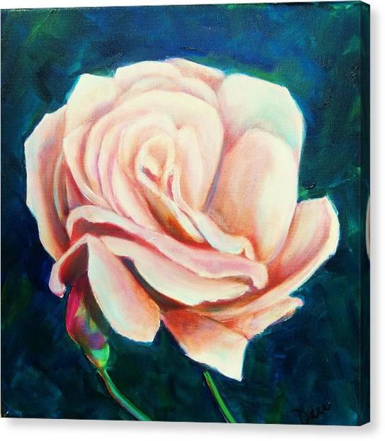 Just Peachy Canvas Print by Dana Redfern