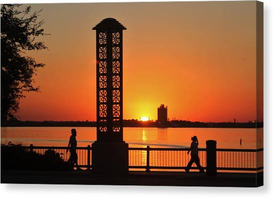 Just Sit And Enjoy Canvas Print