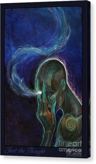 Just The Thought Canvas Print