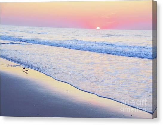 Just The Two Of Us - Jersey Shore Series Canvas Print
