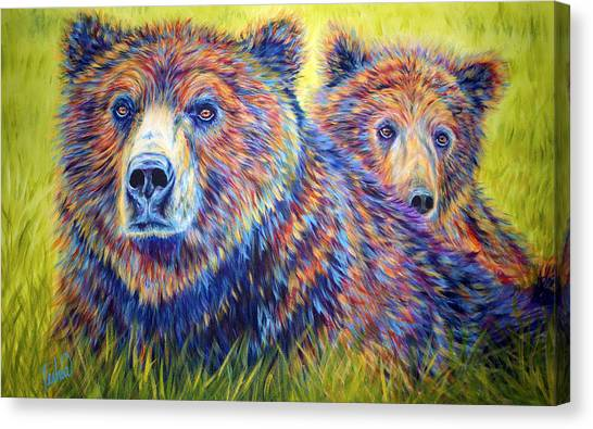 Idaho Canvas Print - Just The Two Of Us by Teshia Art