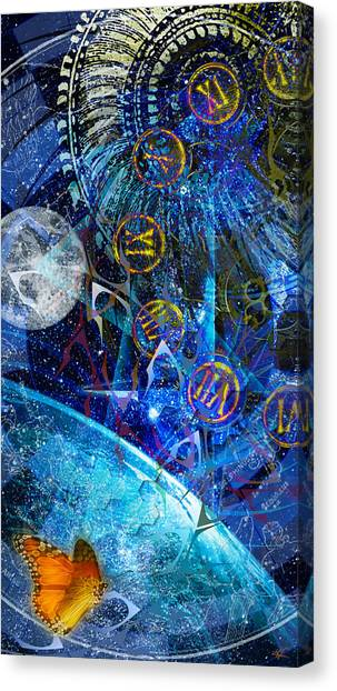 Justbecausality Canvas Print