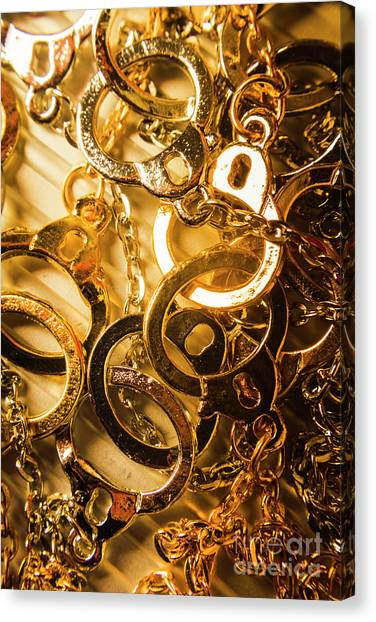 Law Canvas Print - Justice Is Golden by Jorgo Photography - Wall Art Gallery