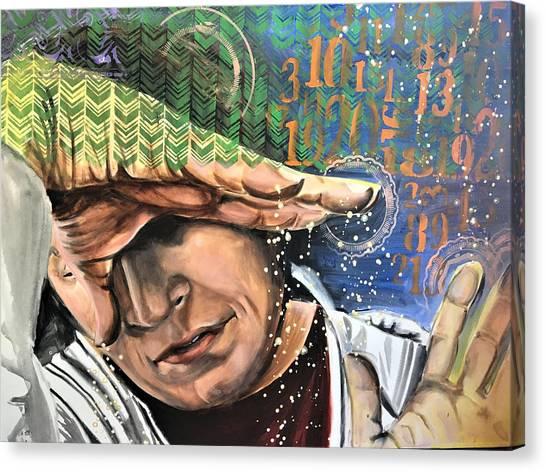 Justly Go Canvas Print by Amoroqie Art