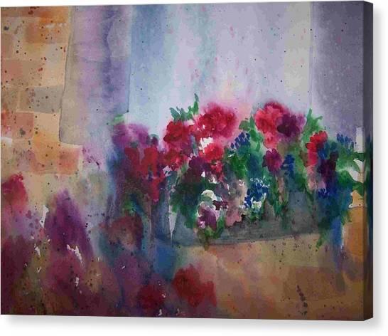 Jutta's Windowbox Canvas Print