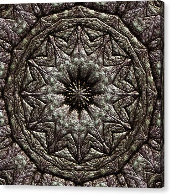 Canvas Print featuring the digital art Jyoti Ahau 213 by Robert Thalmeier