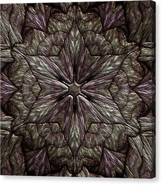 Canvas Print featuring the digital art Jyoti Ahau 220 by Robert Thalmeier