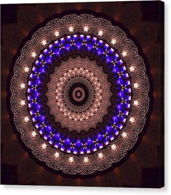 Canvas Print featuring the digital art Jyoti Ahau 38 by Robert Thalmeier