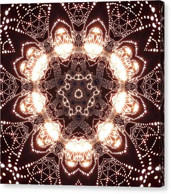 Canvas Print featuring the digital art Jyoti Ahau 45 by Robert Thalmeier