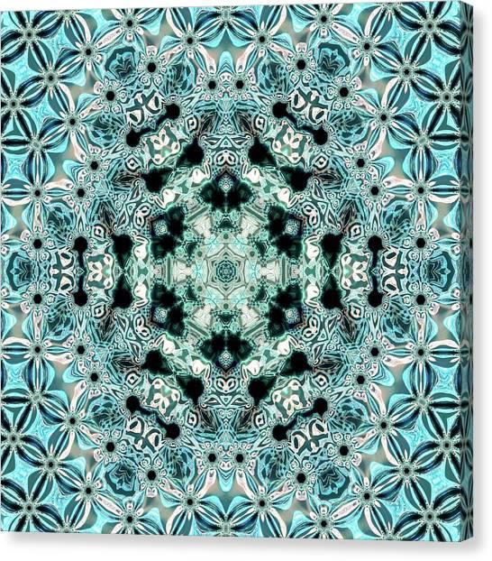 Canvas Print featuring the digital art Jyoti Ahau 996 by Robert Thalmeier