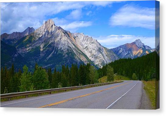 Kananaskis Country Canvas Print