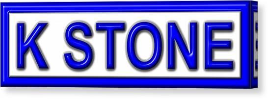 Canvas Print - K Stone by K STONE UK Music Producer