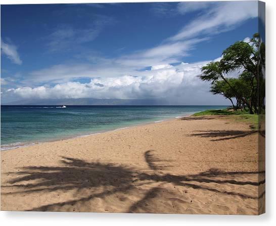 Ka'anapali Beach - Maui Canvas Print