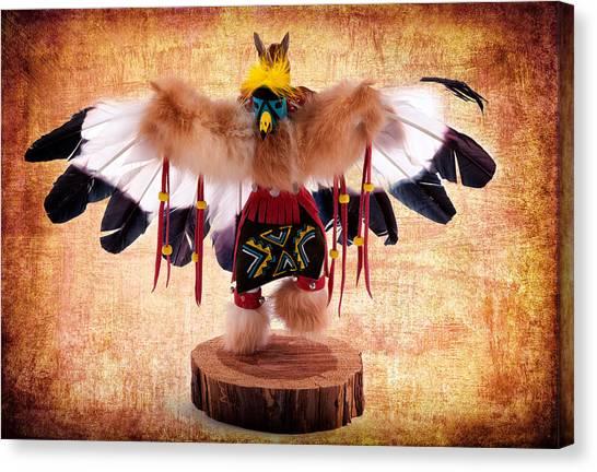 Kachina Doll No 402 Canvas Print