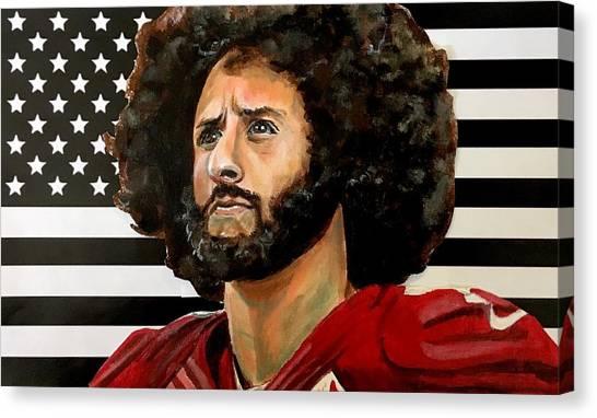 Kaeptain America Canvas Print