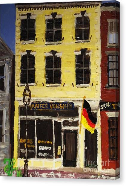 Kaffee Vonsolln Canvas Print