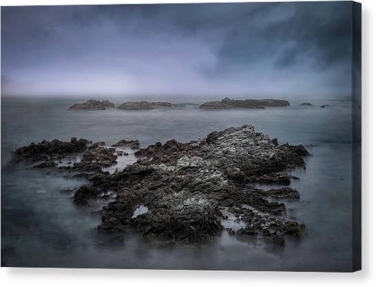 Kaikoura Canvas Print - Kaikoura Cliffs 2 by Martin Capek