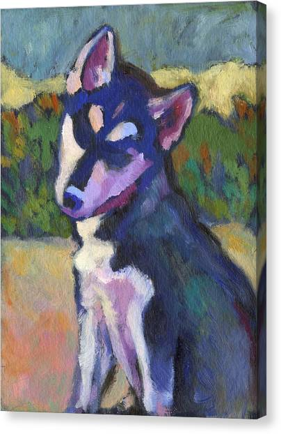 Kaila Puppy Canvas Print