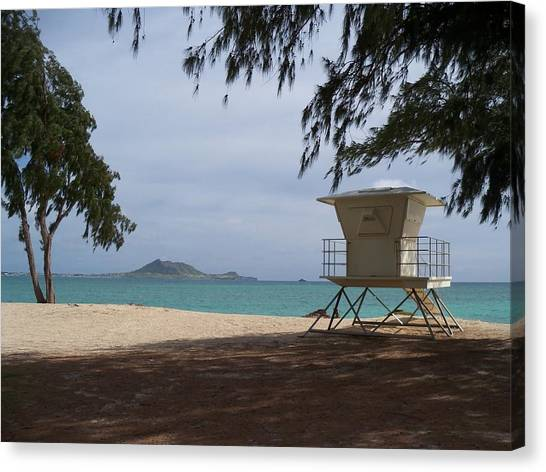 Kailua Beach Canvas Print