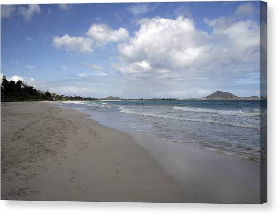 Kailua Beach, Oahu Canvas Print