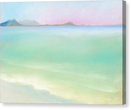 Kailua Sunrise Canvas Print