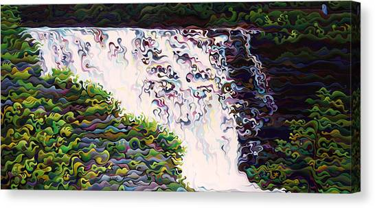 Kakabeca's Concertillion Canvas Print