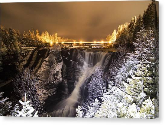Thunder Bay Canvas Print - Kakabeka Falls by Chris Artist