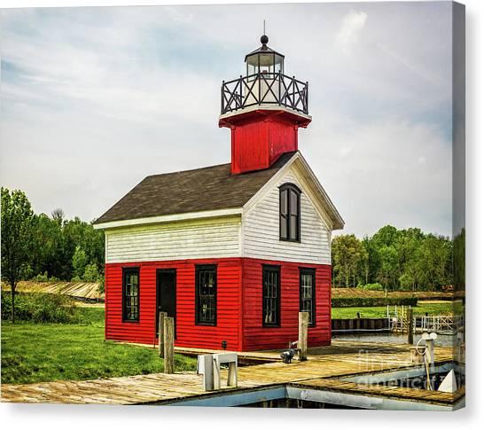 Kalamazoo Lighthouse Canvas Print